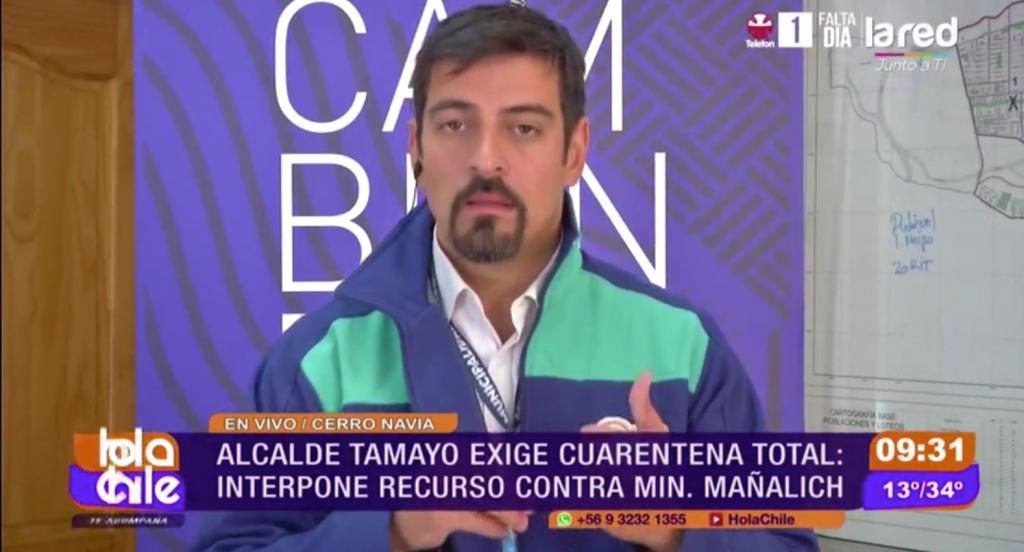Alcalde Mauro Tamayo